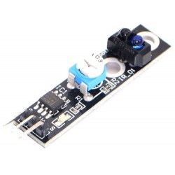 1 channel tracing module probe infrared /black white line detection sensor